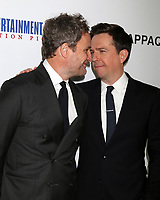"""LOS ANGELES - MAR 28:  Jason Clarke, Ed Helms at the """"Chappaquiddick"""" Premiere at Samuel Goldwyn Theater on March 28, 2018 in Beverly Hills, CA"""