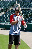 Justin Smoak - Frisco RoughRiders.2009 Texas League All-Star game held at Dr. Pepper Ballpark, Frisco, TX - 07/01/2009. The game was won by the North Division, 2-1..Photo by:  Bill Mitchell/Four Seam Images