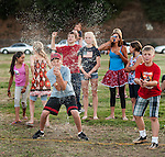 Independence Day celebration with the Jackson Lions Club on July 3, 2012..Water balloon toss