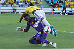 Onana of Camerun -and Miguel Borja of Colombia during the friendly match between Camerun and Colombia in Madrid, Spain 13 jun 2017.(ALTERPHOTOS/Rodrigo Jimenez)
