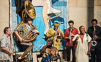 African Brass playing at Ogden After Hours in New Orleans, LA.
