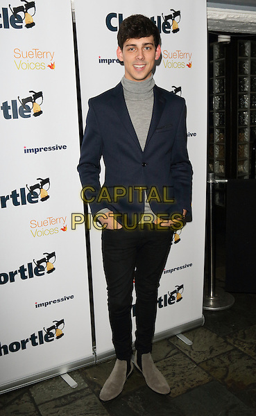 LONDON, ENGLAND - MARCH 16: Matt Richardson  at the Chortle Comedy Awards 2015 at Jongleurs, Camden on March 16th, 2015 in London, England.<br /> CAP/JIL<br /> &copy;Jill Mayhew/Capital Pictures