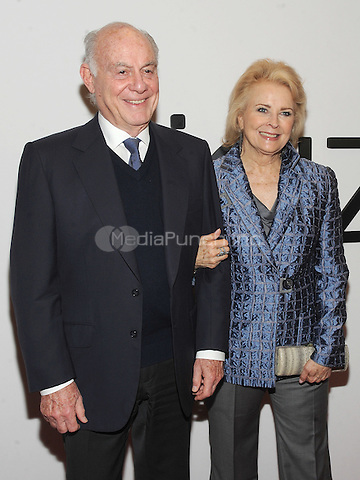 NEW YORK, NY - DECEMBER 16:  Marshall Rose and Candice Bergen attends the opening of the Mica and Ahmet Ertegun Atrium at Jazz at Lincoln Center on December 17, 2015 in New York City.  Photo Credit: John Palmer/MediaPunch