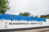 General view of the Stadium ahead of the Pre Season Friendly match between Maidenhead United and Wycombe Wanderers at York Road, Maidenhead, England on 28 July 2017. Photo by Andy Rowland.
