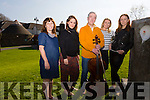 L-R Joanne Barry (co curator of the festival),Kristyn Fontanella (studio assistant), Neil Martin (composer and cellist) Ann O'Donnell  (co curator of the festival), and Jean Butler (choreographer), . Launching the An Tocht Dance Festival is on Friday 24th and Saturday 25th Of April in Siamsa Tire