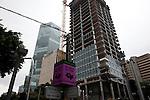 Tel Aviv - in continua crescita: edifici in costruzione