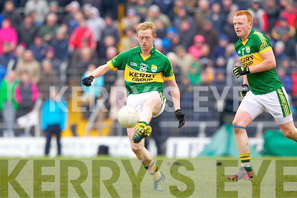 Colm Cooper Kerry in action against \\ Cork in the National Football League at Austin Stack park, Tralee on Sunday.