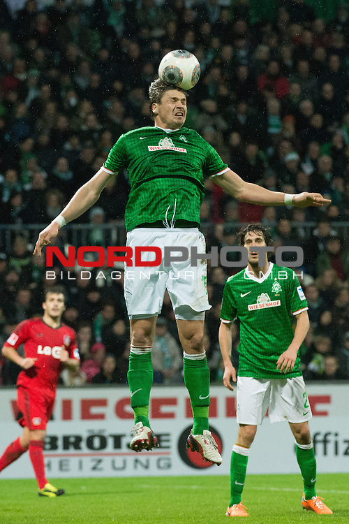 21.12.2013, Weser Stadion, Bremen, GER, 1.FBL, Werder Bremen vs Bayer Leverkusen, im Bild<br /> Sebastian Pr&ouml;dl / Proedl (Bremen #15)<br /> <br /> Foto &copy; nordphoto / Kokenge