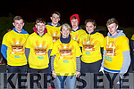 Patrick Horan, Josh Browne, Thomas Murphy, Marie Lehane, Martina Flemng and Kevin O'Mahony Castleisland at Nathans Walk Darkness into Light walk on Saturday morning