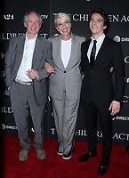 NEW YORK, NY - SEPTEMBER 11:  Ian McEwan, Emma Thompson and Fionn Whitehead   at the Premiere of The Children Act   at the Walter Reade Theater in New York City on September 11, 2018. <br /> CAP/MPI/RW<br /> &copy;RW/MPI/Capital Pictures