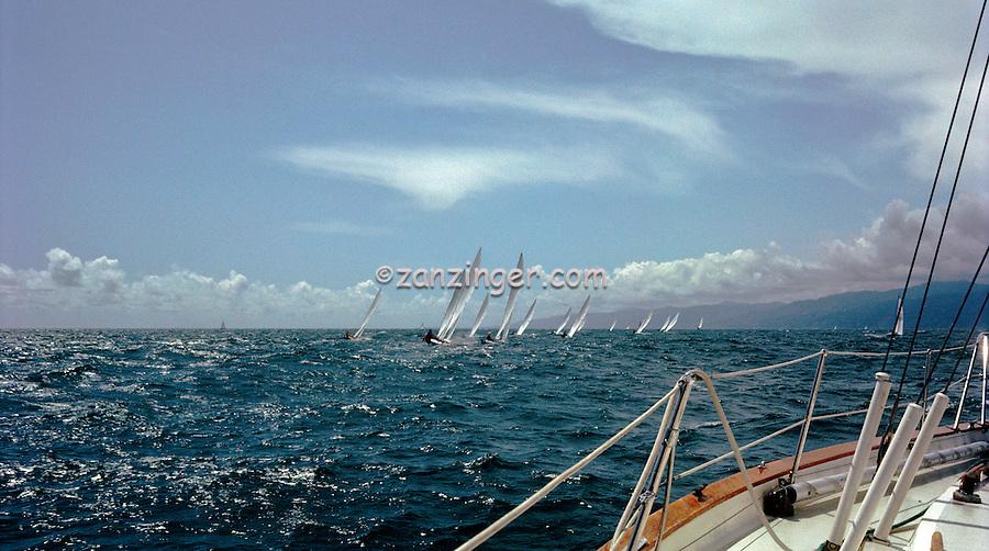 Sailing, Sailboat Racing, Southern California, Santa Monica Bay, South Bay, SoCal, USA