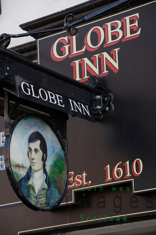 Robert Burns Globe Inn Dumfries