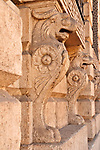Architectural detail in historical city center