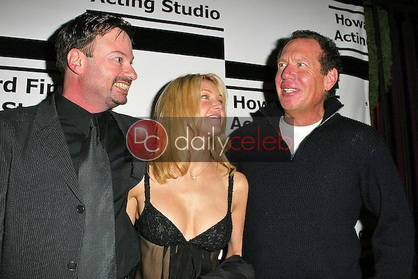 Howard Fine, Heather Locklear and Gary Shandling