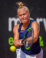 Rotterdam, Netherlands, August21, 2017, Rotterdam Open, Annick Melgers (NED)<br /> Photo: Tennisimages/Henk Koster
