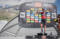 Richie Porte (AUS/BMC) is still the overall race leader going into the final stage tomorrow<br /> <br /> stage 7: Aoste &gt; Alpe d'Huez (168km)<br /> 69th Crit&eacute;rium du Dauphin&eacute; 2017