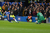 Pedro Of Chelsea FC goes close during Chelsea vs West Ham United, Premier League Football at Stamford Bridge on 30th November 2019