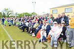 The crowd take in the game at the Cordal field opening