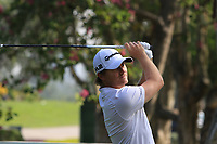 Pontus Widegren (SWE) on the 7th tee during Round 1 of the UBS Hong Kong Open, at Hong Kong golf club, Fanling, Hong Kong. 23/11/2017<br /> Picture: Golffile | Thos Caffrey<br /> <br /> <br /> All photo usage must carry mandatory copyright credit     (&copy; Golffile | Thos Caffrey)