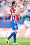 Diego Roberto Godin Leal of Atletico de Madrid reacts during their La Liga match between Atletico de Madrid and Sevilla FC at the Estadio Vicente Calderon on 19 March 2017 in Madrid, Spain. Photo by Diego Gonzalez Souto / Power Sport Images