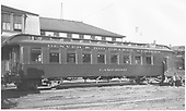 Side view of parlor car &quot;Camp Bird&quot; at Salida.<br /> D&amp;RGW  Salida, CO  Taken by Rogers, Donald E. A. - 8/11/1935