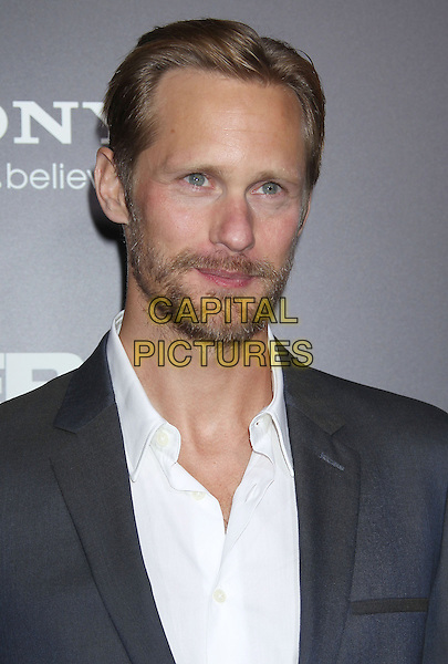"Alexander Skarsgard.""Zero Dark Thirty"" Los Angeles Premiere held at Dolby Theater, Hollywood, California, USA..December 10th, 2012.headshot portrait black blue suit jacket beard facial hair white shirt  .CAP/ADM/RE.©Russ Elliot/AdMedia/Capital Pictures."