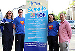 Integral Staff, Lorraine Balfe, Stephen Smith, Sandra Zelnyte and Mathew Stevens (General Manager) at the Launch of the Clogherhead Seaside 10km Run...(Photo credit should read www.newsfile.ie)....This Picture has been sent you under the conditions enclosed by:.Newsfile Ltd..The Studio,.Millmount Abbey,.Drogheda,.Co Meath..Ireland..Tel: +353(0)41-9871240.Fax: +353(0)41-9871260.GSM: +353(0)86-2500958.email: pictures@newsfile.ie.www.newsfile.ie.
