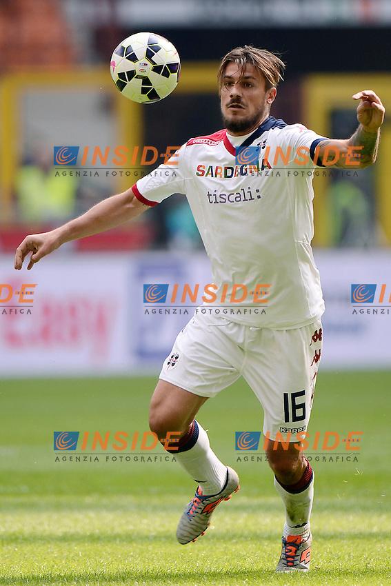 Daniele Dessena Cagliari<br /> Milano 28-09-2014 Stadio Giuseppe Meazza - Football Calcio Serie A Inter - Cagliari. Foto Giuseppe Celeste / Insidefoto