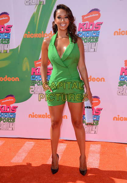17 July 2014 - Los Angeles, California - Gloria Govan-Barnes. Arrivals for the Nickelodeon Kids' Choice Sports Awards 2014 held at UCLA's Pauley Pavilion in Los Angeles, Ca.  <br /> CAP/ADM/BT<br /> &copy;Birdie Thompson/AdMedia/Capital Pictures