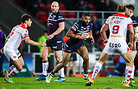 Picture by Alex Whitehead/SWpix.com - 16/03/2018 - Rugby League - Betfred Super League - St Helens v Leeds Rhinos - Totally Wicked Stadium, St Helens, England - Leeds' Kallum Watkins.