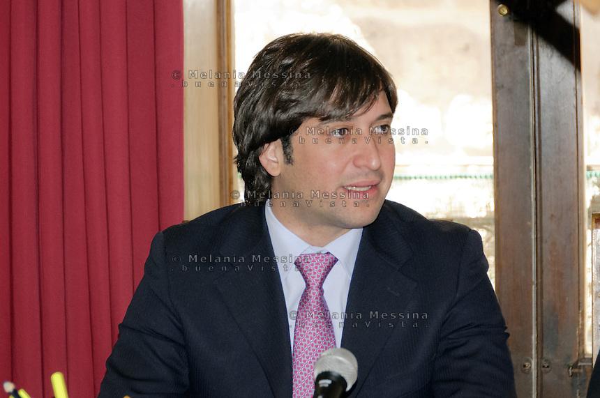 Fabrizio Ferrandelli vincitore delle primarie del centrosinistra per la scelta del candidato a sindaco di Palermo.