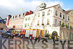 Killarney fire brigade who attended a chimney fire in the Royal Hotel, Killarney on Sunday.