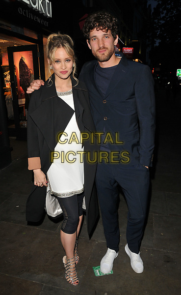 Kimberly Wyatt and Max Rogers at the Kimberly Wyatt for Zakti Activewear VIP drinks party, Zakti Islington Store, Upper Street, London, England, UK, on Tuesday 25 April 2017.<br /> CAP/CAN<br /> &copy;CAN/Capital Pictures