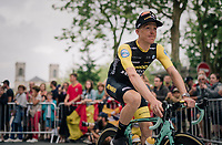 Steven Kruijswijk (NED/LottoNL-Jumbo) at the Team presentation in La Roche-sur-Yon<br /> <br /> Le Grand Départ 2018<br /> 105th Tour de France 2018<br /> ©kramon
