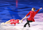 14.12.2014 Barcelona. Spain. ISU Grand Prix of Figure Skating Final 2014. Picture show Ksenia Stolbova and Fedor Klimov (RUS) in action during Gala Exhibition