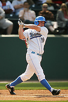 April 3 2010: Cody Regis of the UCLA Bruins during game against the Stanford Cardinal at UCLA in Los Angeles,CA.  Photo by Larry Goren/Four Seam Images