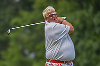 John Daly (USA) watches his tee shot on 15 during 1st round of the 100th PGA Championship at Bellerive Country Club, St. Louis, Missouri. 8/9/2018.<br /> Picture: Golffile | Ken Murray<br /> <br /> All photo usage must carry mandatory copyright credit (© Golffile | Ken Murray)
