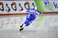 SCHAATSEN: Calgary: Essent ISU World Sprint Speedskating Championships, 28-01-2012, 500m Heren, Mika Poutala (FIN), ©foto Martin de Jong