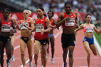 08 JUL 2011 - PARIS, FRA - Caster Semenya (second from right) wins the women's 800m race at the Meeting Areva round of the Samsung Diamond League (PHOTO (C) NIGEL FARROW)