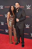 NORTH HOLLYWOOD, CA - JUNE 06: Naomi (L) and Jimmy Uso attend WWE's first-ever Emmy 'For Your Consideration' event at Saban Media Center on June 6, 2018 in North Hollywood, California.<br /> CAP/ROT/TM<br /> &copy;TM/ROT/Capital Pictures