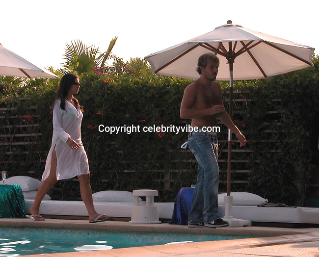 **EXCLUSIVE**.Stephen Dorff.Nikki Beach Restaurant.St. Tropez, France.Monday, August, 02, 2004.Photo By Celebrityvibe.com/Photovibe.com, New York, USA, Phone 212 410 5354, email:sales@celebrityvibe.com...