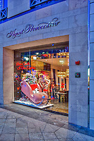 Agent Provocateur, Boudoir Beverly Hills CA; Rodeo Drive; Luxury Shopping; boudoir night wear, beach wear, footwear, luggage , Vertical image