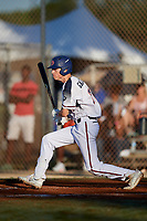 Drew Galyean during the WWBA World Championship at the Roger Dean Complex on October 21, 2018 in Jupiter, Florida.  Drew Galyean is an outfielder from Henderson, Texas who attends The Brook Hill School.  (Mike Janes/Four Seam Images)