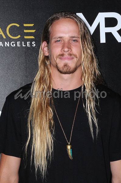 14 July 2016 - Los Angeles, California. Michael Heverly. Arrivals for the Launch of OUE Skyspace LA held at US Bank Tower. Photo Credit: Birdie Thompson/AdMedia