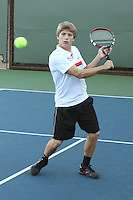 STANFORD, CA - NOVEMBER 16:  Sam Ecker of the Stanford Cardinal during photo day on November 16, 2009 at the Taube Family Tennis Stadium in Stanford, California.