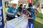 RWJBarnabas Health sponsor tent at the New Jersey Special Olympics at The College Of New Jersey in Ewing, NJ 6/11/16