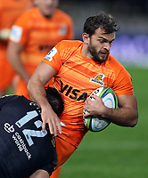 DURBAN, SOUTH AFRICA - JULY 14: Ramiro Moyano of the Jaguares during the Super Rugby match between Cell C Sharks and Jaguares at Jonsson Kings Park on July 14, 2018 in Durban, South Africa. Photo: Steve Haag / stevehaagsports.com