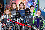 Niamh Dennhy, Chaorlette Hulme, Riona Moran, Sean Kennedy, Niamh Moran and David Kennedy Portmagee at the Premiere of the Star Wars The Force Awakens in Killarney Cinema on Thursday
