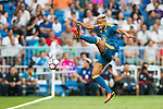 Theo Bongonda of RC Celta de Vigo in action during their La Liga match at the Santiago Bernabeu Stadium between Real Madrid and RC Celta de Vigo on 27 August 2016 in Madrid, Spain. Photo by Diego Gonzalez Souto / Power Sport Images