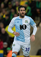 Blackburn Rovers' Danny Graham<br /> <br /> Photographer David Horton/CameraSport<br /> <br /> The EFL Sky Bet Championship - Norwich City v Blackburn Rovers - Saturday 27th April 2019 - Carrow Road - Norwich<br /> <br /> World Copyright © 2019 CameraSport. All rights reserved. 43 Linden Ave. Countesthorpe. Leicester. England. LE8 5PG - Tel: +44 (0) 116 277 4147 - admin@camerasport.com - www.camerasport.com